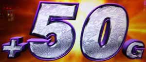 パチスロ 蒼天の拳2 百烈拳チャンス上乗せ+50G