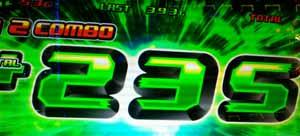 パチスロ 緑ドンVIVA2 エクストリームラッシュ上乗せ+235G